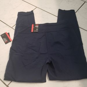 Style & co navy tummy control legging. Size medium